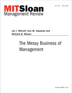 The Messy Business of Management