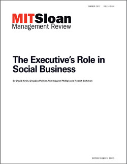 The Executive's Role in Social Business