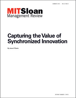Capturing the Value of Synchronized Innovation