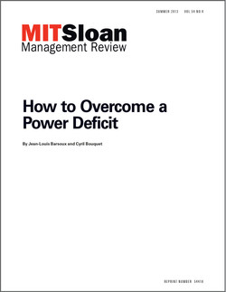How to Overcome a Power Deficit