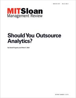 Should You Outsource Analytics?