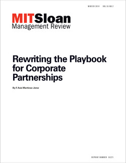 Rewriting the Playbook for Corporate Partnerships
