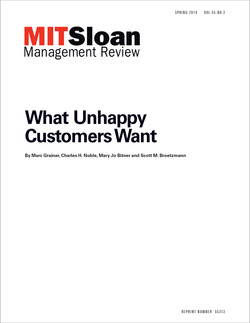 What Unhappy Customers Want