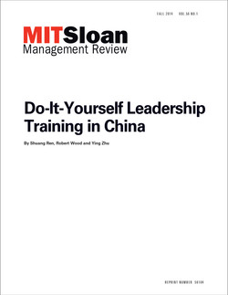 Do-It-Yourself Leadership Training in China