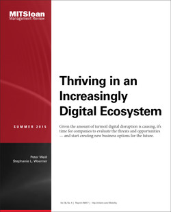 Thriving in an Increasingly Digital Ecosystem