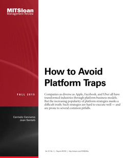 How to Avoid Platform Traps