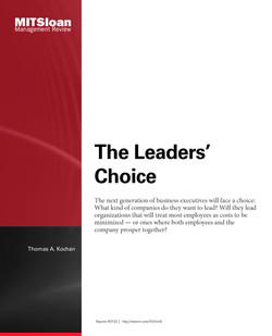 The Leader's Choice