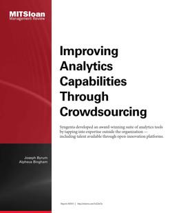 Improving Analytics Capabilities Through Crowdsourcing