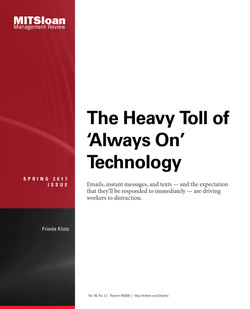 The Heavy Toll of 'Always-On' Technology