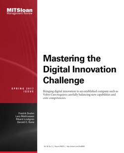 Mastering the Digital Innovation Challenge