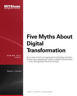 Five Myths About Digital Transformation