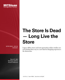 The Store Is Dead — Long Live the Store