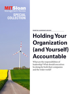 Holding Your Organization (and Yourself) Accountable