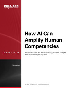 How AI Can Amplify Human Competencies