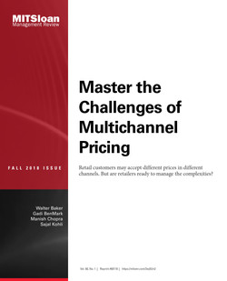 Master the Challenges of Multichannel Pricing