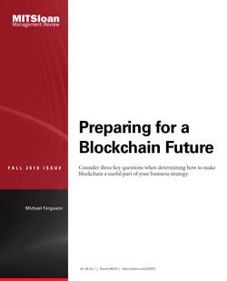 Preparing for a Blockchain Future