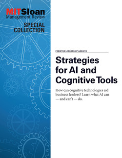Strategies for AI and Cognitive Tools