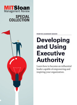 Developing and Using Executive Authority