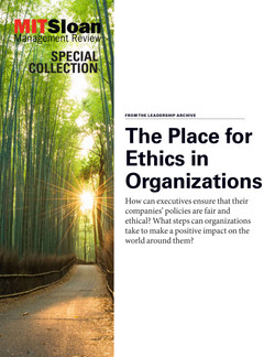 The Place for Ethics in Organizations
