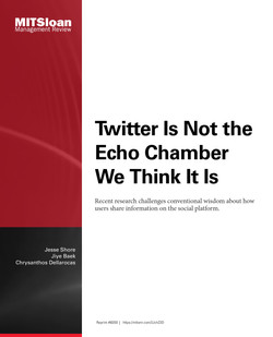 Twitter Is Not the Echo Chamber We Think It Is