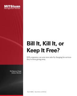 Bill It, Kill It, or Keep It Free?