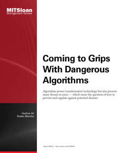 Coming to Grips With Dangerous Algorithms