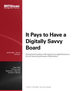It Pays to Have a Digitally Savvy Board