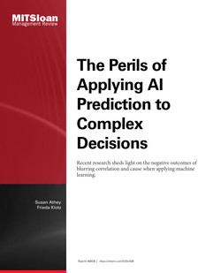 The Perils of Applying AI Prediction to Complex Decisions