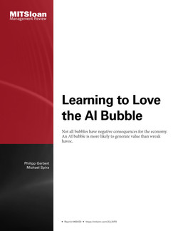 Learning to Love the AI Bubble