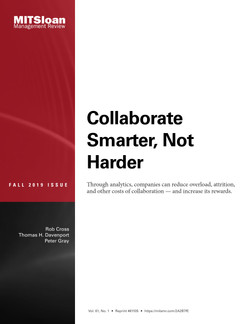Collaborate Smarter, Not Harder