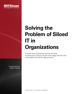 Solving the Problem of Siloed IT in Organizations