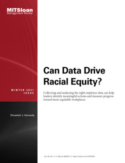 Can Data Drive Racial Equity?