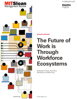 The Future of Work Is Through Workforce Ecosystems