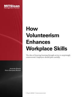 How Volunteerism Enhances Workplace Skills