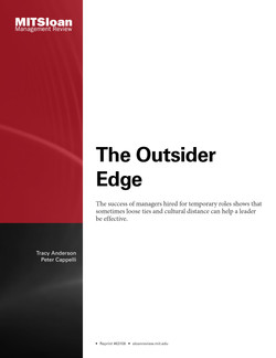 The Outsider Edge