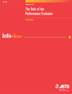 The Role of the Performance Evaluator—Performance