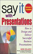 book cover: Say It with Presentations