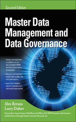 MASTER DATA MANAGEMENT AND DATA GOVERNANCE, 2/E, 2nd Edition