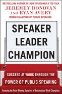 book cover: Speaker, Leader, Champion: