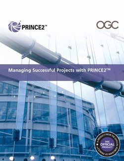 Managing Successful Projects with PRINCE2™