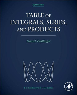 Table of Integrals, Series, and Products, 8th Edition