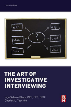 The Art of Investigative Interviewing, 3rd Edition