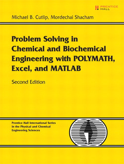 Problem Solving in Chemical and Biochemical Engineering with POLYMATH,