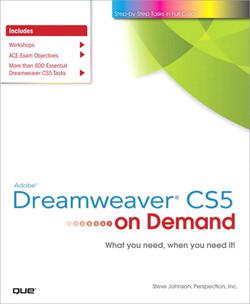 Adobe® Dreamweaver® CS5 On Demand
