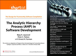 The Design for Trustworthy Software Compilation The Analytic Hierarchy Process (AHP) in Software Development