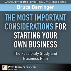 The Most Important Considerations for Starting Your Own Business: The Feasibility Study and Business Plan