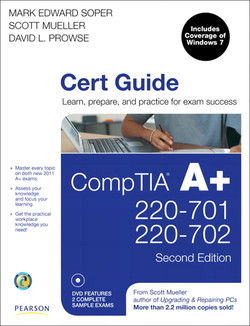 CompTIA® A+ 220-701 and 220-702 Cert Guide, Second edition
