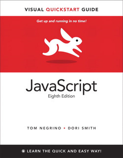 JavaScript: Visual QuickStart Guide, Eighth Edition