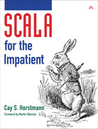 Cover of Scala for the Impatient