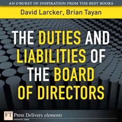 The Duties and Liabilities of the Board of Directors